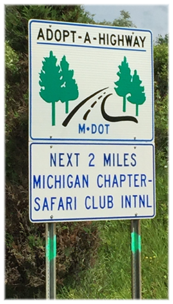 Our MDOT Sign!